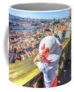 Porto Skyline Woman Coffee Mug