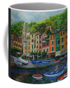 Portofino Harbor Coffee Mug