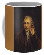 Portrait As A Deaf Man Coffee Mug