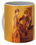 Portrait Group Of The Artists Family Coffee Mug