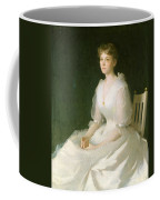 Portrait In White Coffee Mug