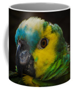 Portrait Of A Blue-fronted Parrot Coffee Mug