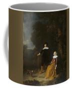Portrait Of A Couple In A Landscape Coffee Mug