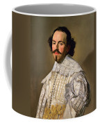 Portrait Of A Gentleman In White Coffee Mug