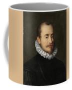 Portrait Of A Gentleman Workshop Of Hans Von Aachen - Circa 1600 Coffee Mug