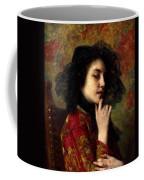 Portrait Of A Georgian Princess Coffee Mug
