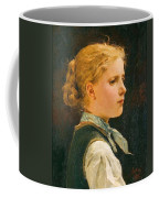 Portrait Of A Girl Coffee Mug