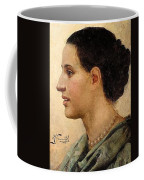 Portrait Of A Girl Henryk Semiradsky Coffee Mug