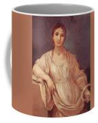 Portrait Of A Girl With Crown 1642 Coffee Mug