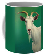 Portrait Of A Goat Coffee Mug by James W Johnson