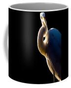 Portrait Of A Great Egret  Coffee Mug