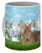 Portrait Of A Gregarious Brown Bunny Coffee Mug