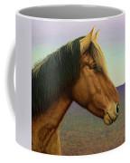 Portrait Of A Horse Coffee Mug by James W Johnson