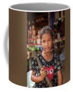 Portrait Of A Khmer Girl - Cambodia Coffee Mug