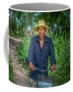 Portrait Of A Khmer Rice Farmer - Cambodia Coffee Mug
