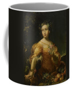 Portrait Of A Lady, Allegory Of Abundantia Coffee Mug