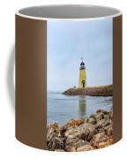 Portrait Of A Lighthouse Coffee Mug