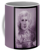 Portrait Of A Little Girl Coffee Mug
