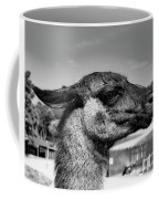 Portrait Of A Llama Mafia Leader Coffee Mug