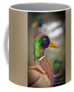 Portrait Of A Mallard Coffee Mug