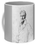 Portrait Of A Man Possible Edma Bochet Coffee Mug