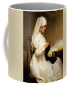 Portrait Of A Nurse From The Red Cross Coffee Mug