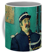 Portrait Of A One-eyed Man Coffee Mug