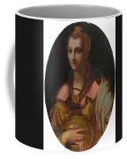 Portrait Of A Richly Dressed Lady Coffee Mug