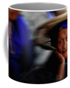 Portrait Of A Senior Lady In Yun Nan, China Coffee Mug