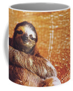 Portrait Of A Sloth Pet Looking In The Camera Coffee Mug