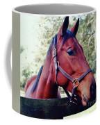 Portrait Of A Thoroughbred Coffee Mug