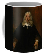 Portrait Of A White-haired Man Coffee Mug