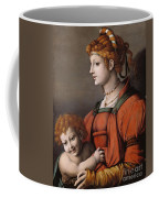 Portrait Of A Woman And Child - Allegory Of Liberality Coffee Mug