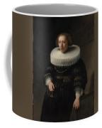 Portrait Of A Woman Probably A Member Of The Van Beresteyn Family Coffee Mug
