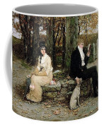 Portrait Of A Young Girl Adolphe William Bouguereau Coffee Mug