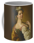 Portrait Of A Young Girl As A Shepherdess Coffee Mug