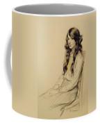 Portrait Of A Young Girl Coffee Mug
