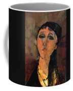 Portrait Of A Young Girl Louise 1915 Coffee Mug