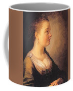 Portrait Of A Young Woman 1640 Coffee Mug