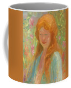 Portrait Of A Young Women In Garden 1912 Coffee Mug