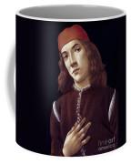 Portrait Of A Youth Coffee Mug