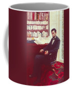 Portrait Of Abraham Lincoln Coffee Mug by Howard Pyle