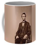 Portrait Of Abraham Lincoln Coffee Mug by Mathew Brady