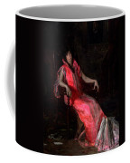 Portrait Of Actress Suzanne Santje Coffee Mug