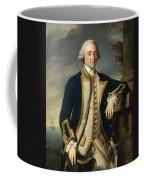 Portrait Of Admiral Sir Hugh Palliser 1st Bart Coffee Mug