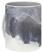Portrait Of An American Bison Coffee Mug