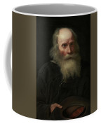 Portrait Of An Old Man Begging By Michael Sweerts Coffee Mug