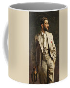 Portrait Of An Unknown Man By Constantine Gorski, 1896. Coffee Mug