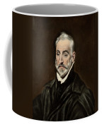 Portrait Of Antonio De Covarrubias Coffee Mug