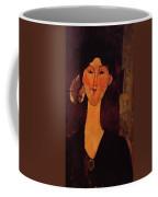 Portrait Of Beatrice Hastings 1915 Coffee Mug